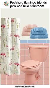 blue tile bathroom ideas 13 ideas to decorate a pink and blue tile bathroom retro renovation