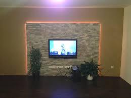 Beleuchtung Wohnzimmer Fernseher Fernseher Wand Deko Fernen Auf Moderne Ideen Plus Wohnzimmer Tv 11