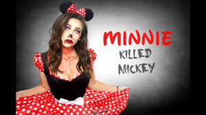 evil minnie mouse make up horia youtube