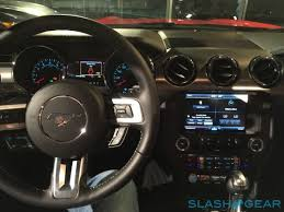 mustang 2015 inside 2015 ford mustang drive pony car rebooted slashgear