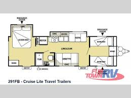 Salem Rv Floor Plans by New 2014 Forest River Rv Salem Cruise Lite 291fbxl Travel Trailer