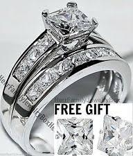 white gold wedding sets 14k gold wedding ring set ebay