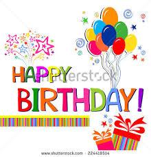 text birthday card happy birthday card celebration background birthday stock vector
