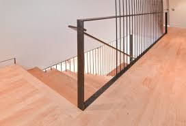 diy stair railing 34th stair detail8 custom steel railing 12 10