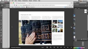 cara membuat website via html creating html from indesign youtube
