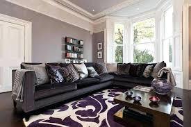 grey livingroom purple and grey living room ideas dynamicpeople