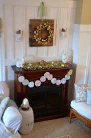 easter mantel decorations 43 stylish easter mantel decorating ideas digsdigs