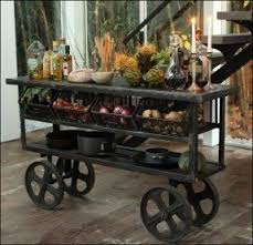rustic kitchen cart foter