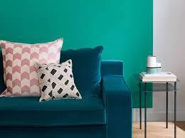 chambre peinte en bleu quelles couleurs associer avec le vert décoration
