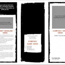 blank brochure templates free download selimtd