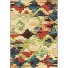 Leaf Area Rug Orian Rugs Area Rugs Rugs The Home Depot