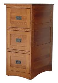 Three Drawer File Cabinet by Deluxe 3 Drawer File Cabinet Mission Style Amish Furniture