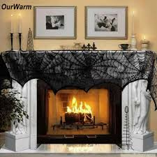 halloween fireplace decorations reviews online shopping