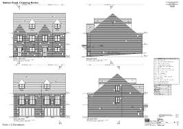 south facing house floor plans keble homes station road chipping norton