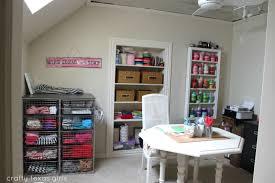 crafty texas girls organized craft room