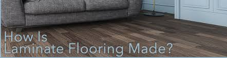 how is laminate flooring constructed the carpet guys