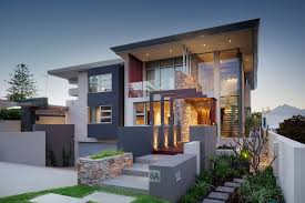 two story home designs modern house facades designs for single story homes modern house