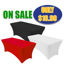 spandex table covers wholesale spandex fitted table cover 4ft banquet table black premier table