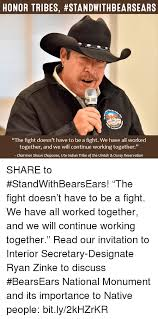 Shaun T Memes - honor tribes standwithbearsears the fight doesn t have to be a