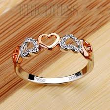 heart design rings images Nscd 2 point romantic heart 925 silver ring romantic ring and jewel jpg