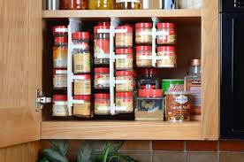 Cabinet Pan Organizer Kitchen Rubbermaid Pull Down Spice Rack Pull Out Spice Rack