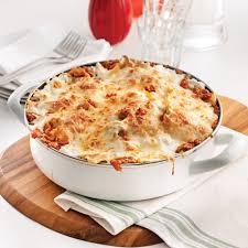 cuisine lasagne lasagne dans le poêlon recettes cuisine et nutrition pratico