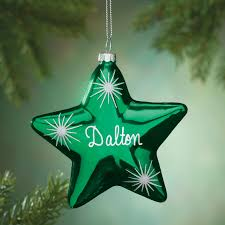 personalized birthstone star ornament miles kimball