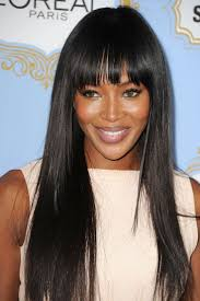 30 best bangs images on pinterest naomi campbell hairstyles and
