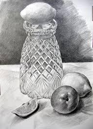 Vase Drawing A Vase And Fruits Pencil Drawing Masahiro Suzuki Flickr