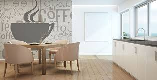papiers peints pour cuisine papiers peints cuisine mur aux dimensions myloview fr