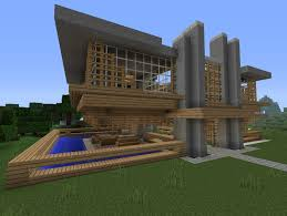 Mid Century House by Mid Century Modern Minecraft Project