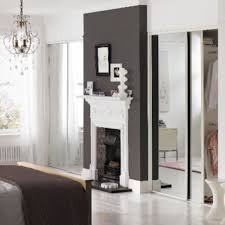 Wickes Fitted Bedroom Furniture by Mirrored Sliding Wardrobe Doors Wickes White Frame In Market