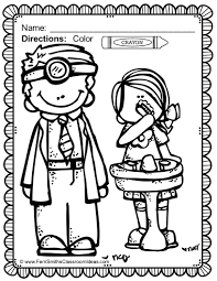 project for awesome dental health month coloring pages at best all