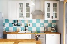 cuisine turquoise cuisine ikea blanche et bois awesome best cuisine blanc et
