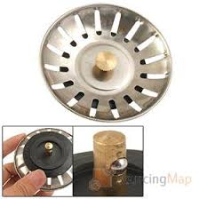 Home Stainless Steel Kitchen Sink Strainer Drain Stopper Kitchenware - Kitchen sink drain plug