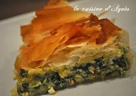cuisine epinard tourte épinard feta de oliver la cuisine d agnèsla cuisine