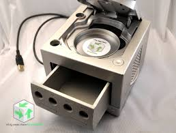 Video Gaming Desk by Upcycled Gamecube Desk Organizer With Usb Extension Nintendo