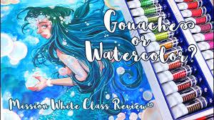 gouache or watercolor mijello mission white class misskerriej