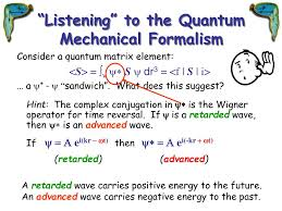ppt the quantum handshake a review of the transactional