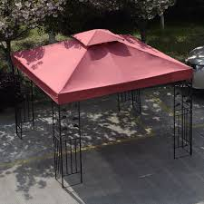 Patio Gazebo 10 X 10 by Gym Equipment Outdoor 10 U0027 X 10 U0027 Patio Canopy Gazebo Top Replacement