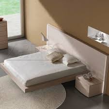 Floating Bedframe by Floating Bed Double Contemporary With Headboard Aris Plus