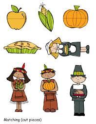 free thanksgiving file folder preschool powol packets