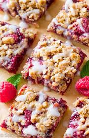 raspberry streusel bars sallys baking addiction