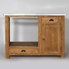 cuisine en pin massif meuble de cuisine en bois pour four et plaques cagne made in