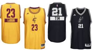 nba s 2014 day uniforms with players names