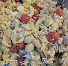 Creamy Pasta Salad Recipes by Hines Sight Blog Southern Party Food Creamy Pasta Salad