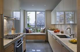 gallery kitchen ideas designs for small galley kitchens for step three small galley