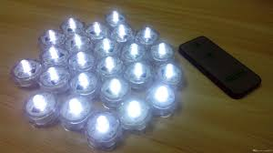 submersible led lights wholesale 2018 wholesale 2 cr2032 battery operated remote control submersible