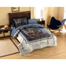 american heritage collection cold snap deer bedding comforter set