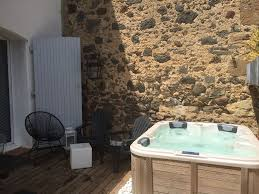 renovated cers village house old stone house with jaccuzi cers herault